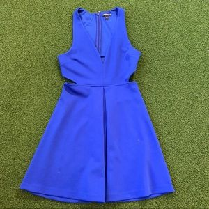 Express Women Blue Casual Dress Size 4